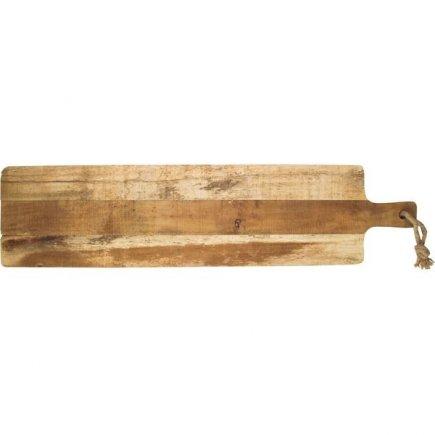 Servírovací prkénko akátové dřevo Gusta Table Tales 79x19 cm