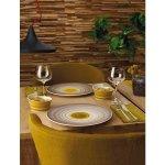 Talíř mělký Villeroy & Boch Amarah 32 cm, žlutý