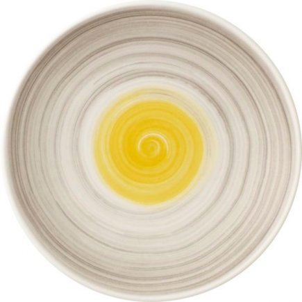 Talíř mělký dezertní Villeroy & Boch Amarah 16 cm, žlutý