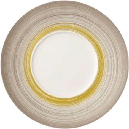 Talíř mělký Villeroy & Boch Amarah 29/14,5 cm, dekor rákos