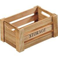 Bedýnka dřevěná Kesper Storage 25,8x17x13,5 cm, natur