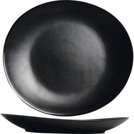 Talíř mělký Cosy&Trendy Vongola Black 28x25,5 cm