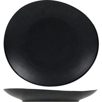 Talíř mělký Cosy&Trendy Vongola Black 22,2x20,3 cm