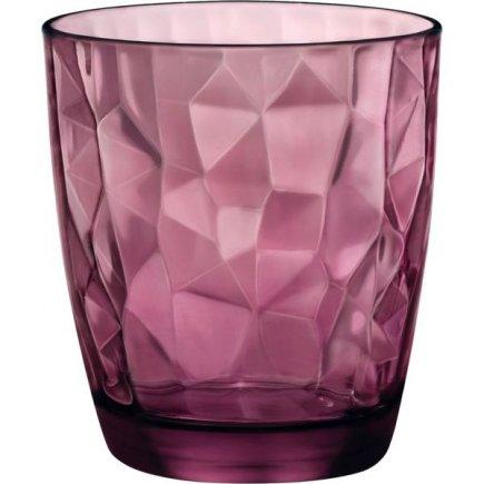 Sklenice na vodu Bormioli Rocco Diamond 305 ml, fialová