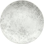 Talíř mělký Schönwald Shabby Chic 30 cm, šedý, dekor 63071