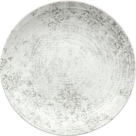 Talíř dezertní Schönwald Shabby Chic 20 cm, šedý, dekor 63071