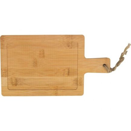 Servírovací prkénko bambusové Gusta Oven To Table 19x14 cm