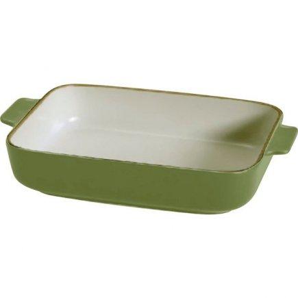 Zapékací mísa keramická Gusta Oven To Table 34,5x22x7 cm, zelená