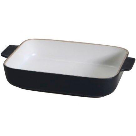 Zapékací mísa keramická Gusta Oven To Table 34,5x22x7 cm, černá