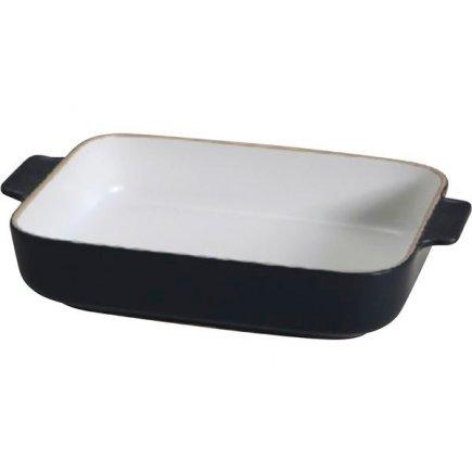 Zapékací mísa keramická Gusta Oven To Table 30x19x6 cm, černá