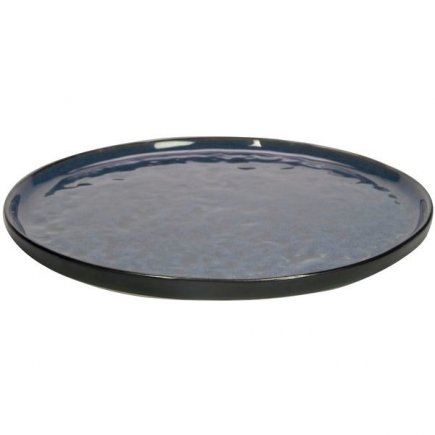 Talíř dezertní Gusta Table Tales 20,5 cm, modrý