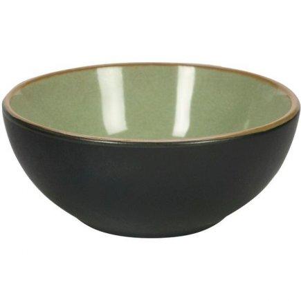 Miska kulatá Gusta Table Tales 9 cm, zelená