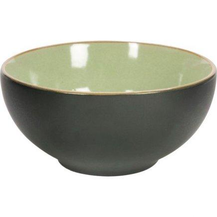 Miska kulatá Gusta Table Tales 12,3 cm, zelená