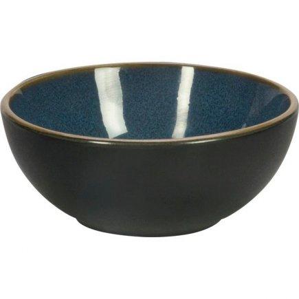 Miska kulatá Gusta Table Tales 9 cm, modrá