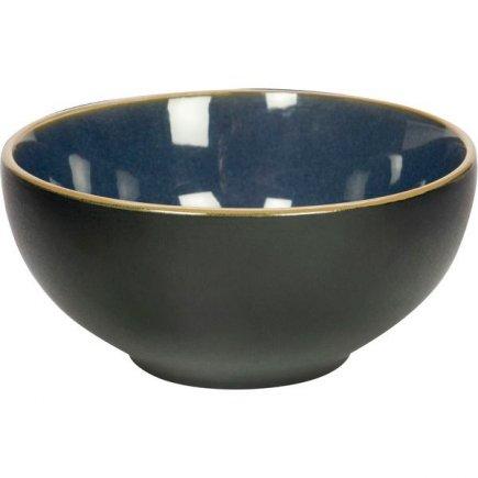 Miska kulatá Gusta Table Tales 12,3 cm, modrá