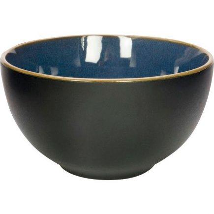 Miska kulatá Gusta Table Tales 13,5 cm, modrá