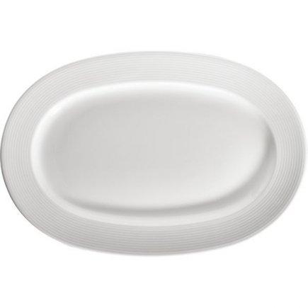 Talíř klubový oválný Gastro Rey 32x22 cm