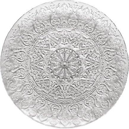 Talíř servírovací Luigi Bormioli Arabesk 32 cm, vyvýšený okraj