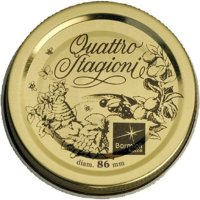 Náhradní šroubovací víčko Bormioli Rocco Quattro Stagioni 86 mm