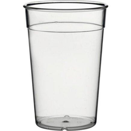 Kelímek plastový pro vícenásobné použití Gastro cejch 0,5 l, čirý