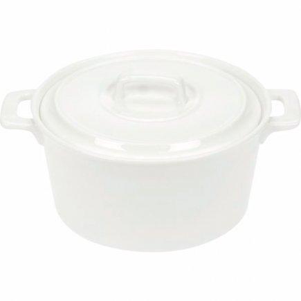 Hrnec s poklicí Cosy&Trendy 750 ml, bílý