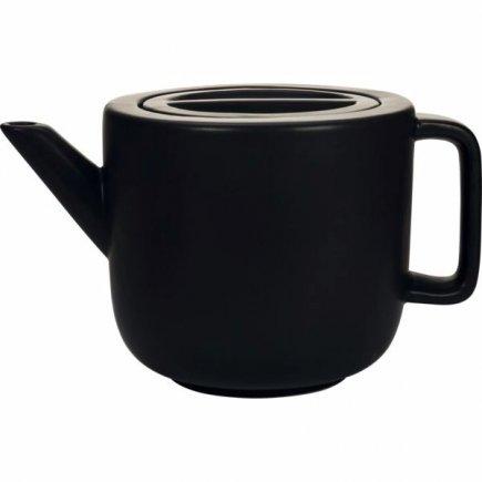 Konvice keramická Gusta 2 l, černá