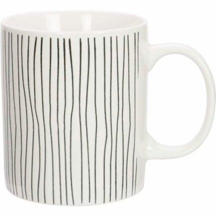 Hrnek keramický Gusta Stripes 330 ml