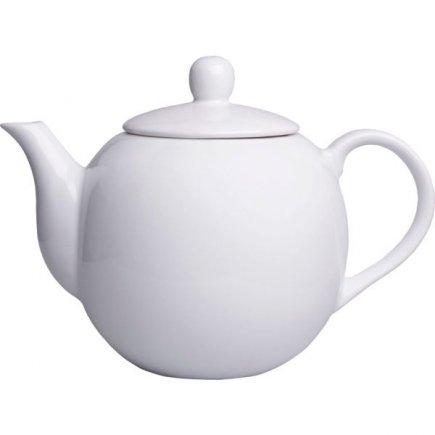 Konvička porcelánová Gastro 1100 ml, bílá