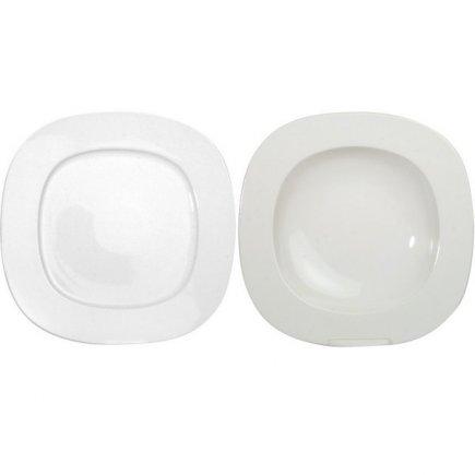 Sada talířů 12-dílná Thun Leon
