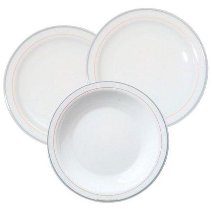 Sada talířů 18-dílná Arcoroc Valerie