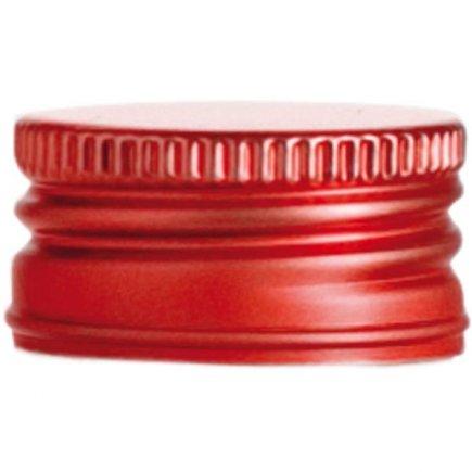 Šroubovací zátka Gastro 10 ks, červená