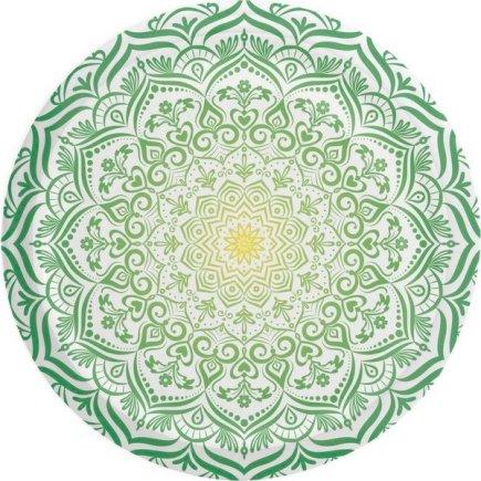 Šroubovací víčko Mandala 66 mm, zelené