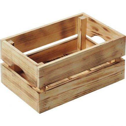 Bedýnka dřevěná Kesper 30x20x15 cm