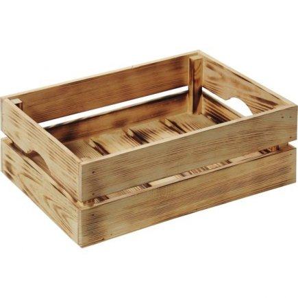 Bedýnka dřevěná Kesper 40x30x15 cm