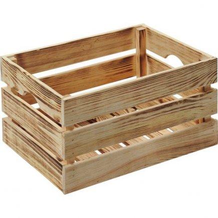 Bedýnka dřevěná Kesper 40x30x23 cm
