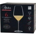 Sada 6 sklenic na víno Luigi Bormioli Atelier 440 ml