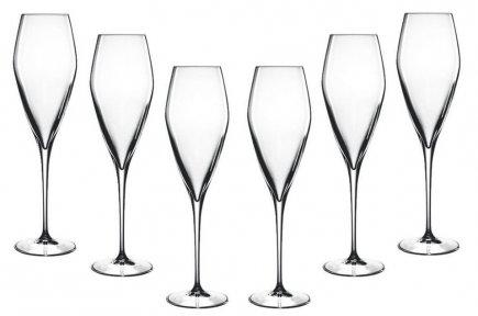 Sada 6 sklenic na sekt Luigi Bormioli Atelier 270 ml