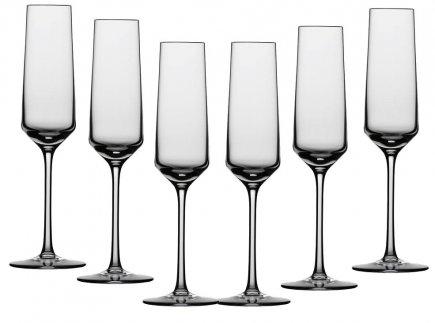 Sada 6 sklenic na sekt Schott Zwiesel Pure 209 ml