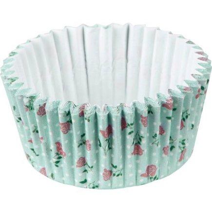 Papírové košíčky na muffiny Fackelmann 50 ks, růže