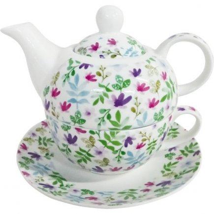 Sada na čaj Tea For One Floral
