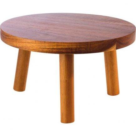 Bufetový stojan dřevěný APS Element 25 cm