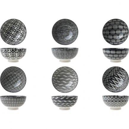 Miska porcelán Cosy&Trendy Nikko 12,5 cm, různé dekory