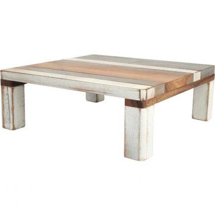 Stojan dřevěný Drift 28x28 cm