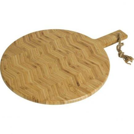 Servírovací dřevěné prkénko Gusta Fishbone 52x39 cm