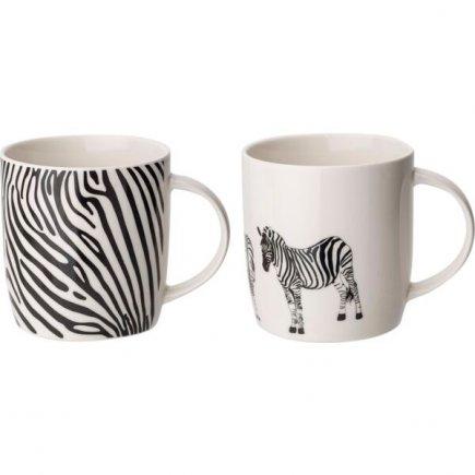 Hrnek s uchem Zebra 360 ml, různé motivy