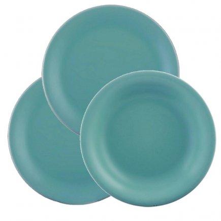 Sada talířů 18-dílná Lilien Daisy, aquamarin