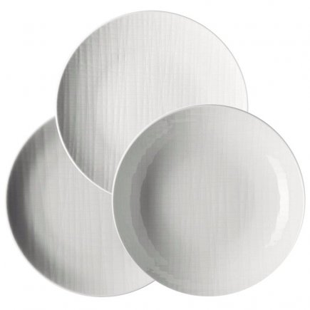Sada talířů 18-dílná Rosenthal Mesh, kulatá