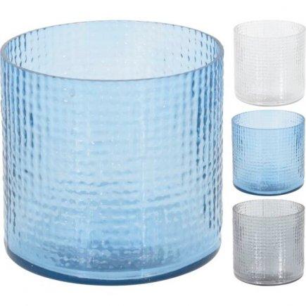 Svícen na čajovou svíčku 11,5 cm, různé barvy