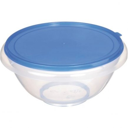 Mísa plastová s víkem Gastro 7 l, různé barvy