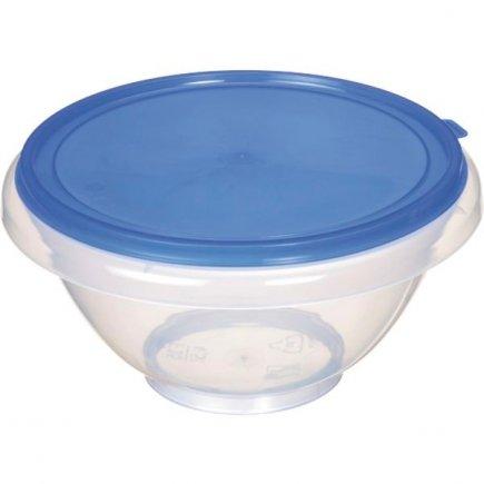 Mísa plastová s víkem Gastro 4,5 l, různé barvy